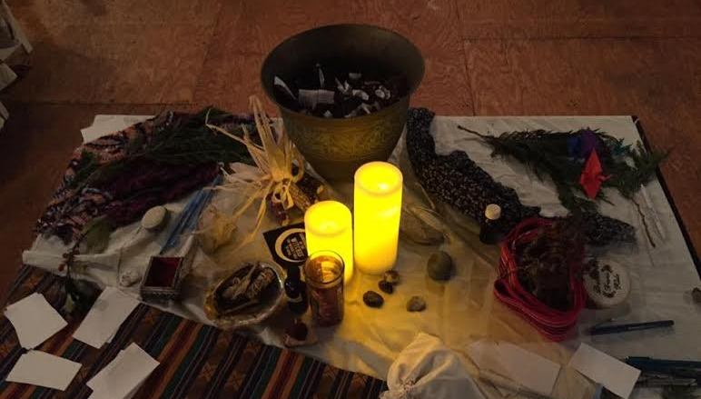 The Clearing solstice altar.jpg