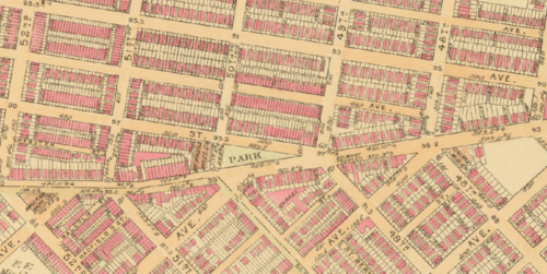1910 Cedar Park Map
