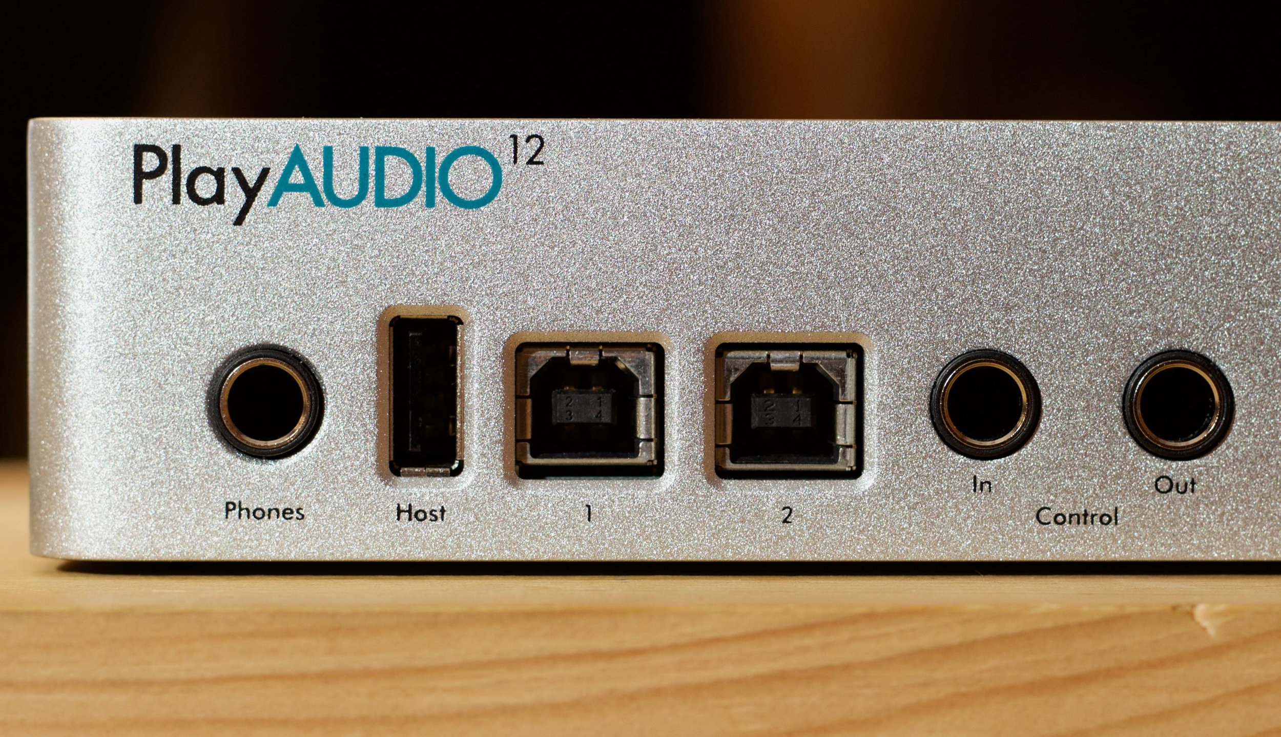 Front panel connectivity for headphones, up to two computers and MIDI peripherals for quick and easy setup