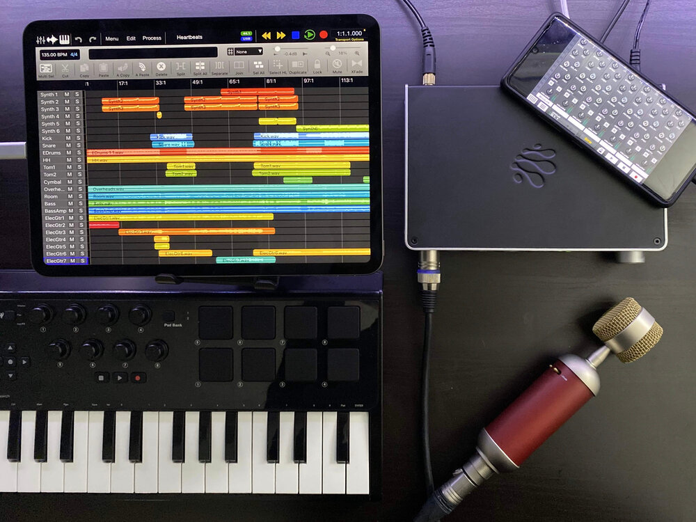 AUDIO4c makes using mics, instruments, and MIDI gear with your iOS and Android devices easier than ever