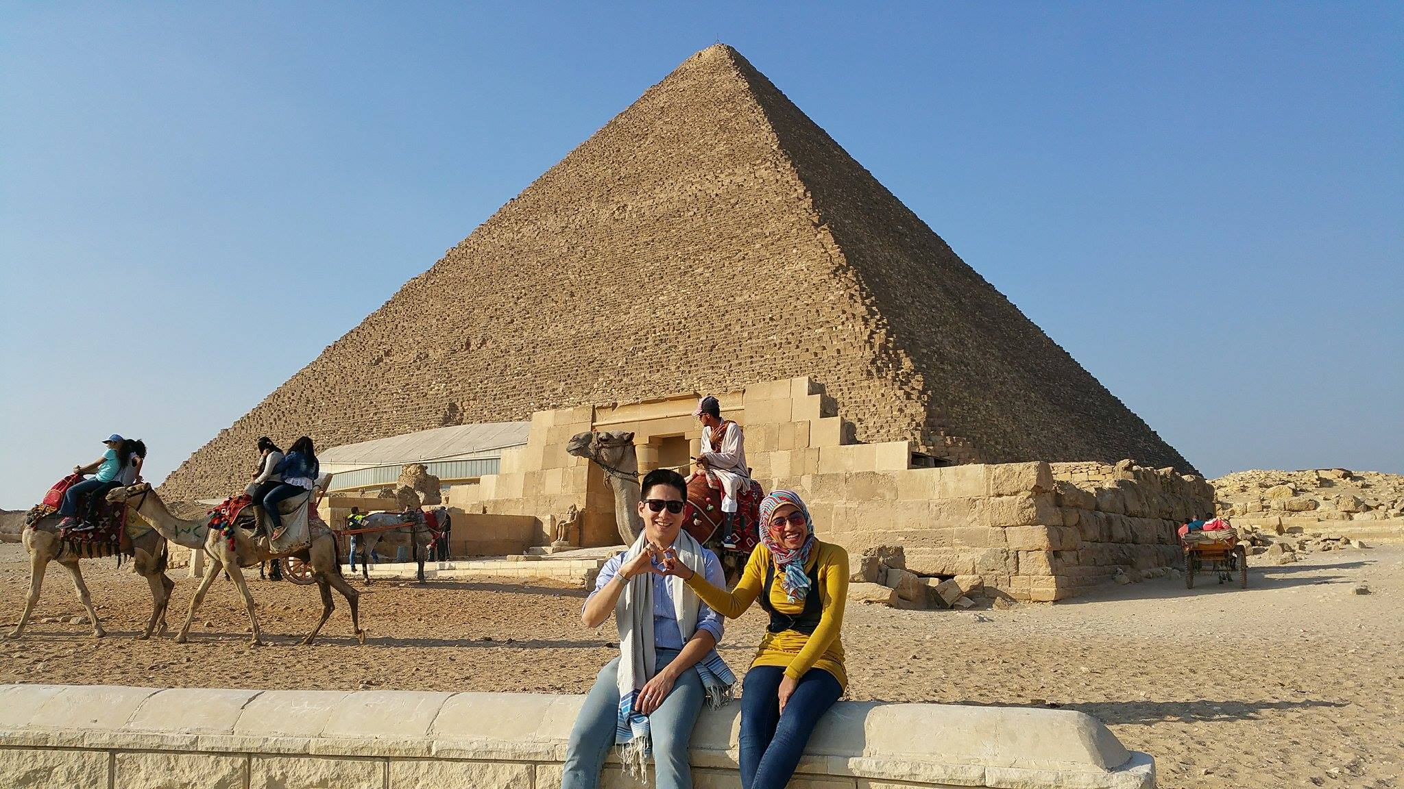Greetings from The Pyramids