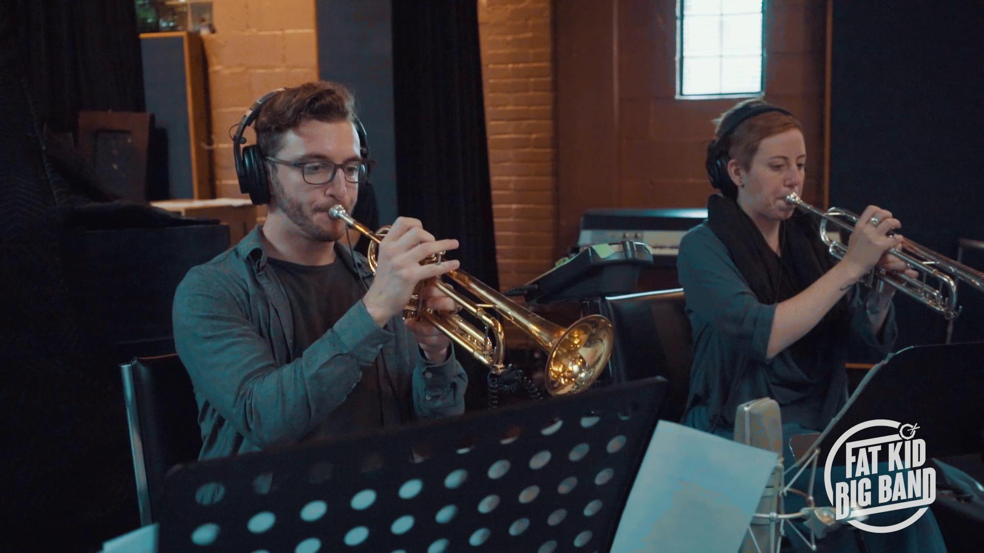 Benoît & Martine- trumpet