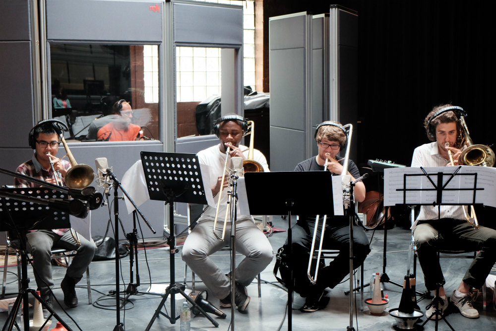 Kalun, Modibo, Alex & Olivier- killer, killer trombone section