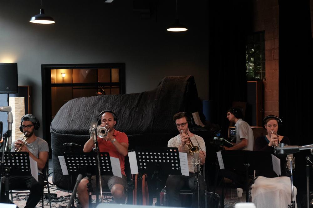 Hichem, Fréd, Benoît & Martine- trumpets