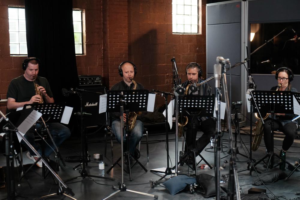Al, Tevet, Tihomir & Melissa- saxophones