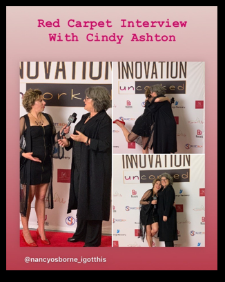 Innovation Uncorked Red Carpet Interview with Cindy Ashton
