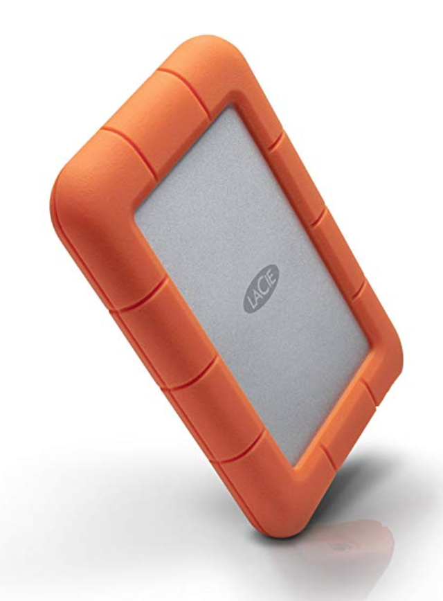 1 TB LaCie Rugged external hard drive - A photographer can ALWAYS use more hard drives.