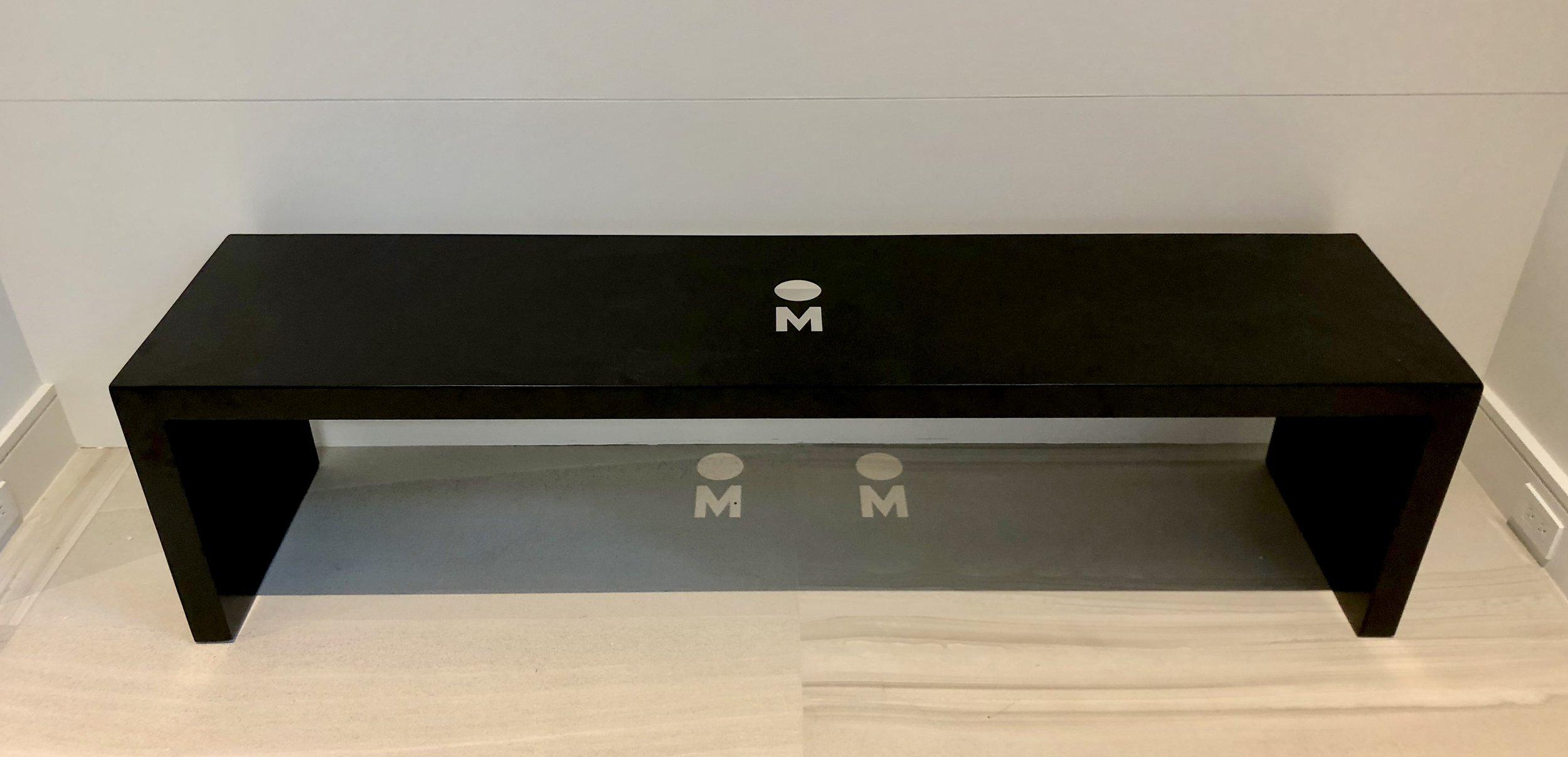 Modern-Day Interpretation of a Meditation Bench :  $5000.