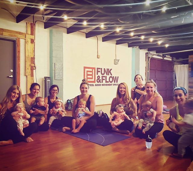 Baby+Me Flow every Tuesday at 10a with Jamey!  Connect with yourself and with your baby in The Feel Good Movement Space! 👇🏼More feel good movement Feel Good Flow| 5:15p w Ashley CardioFUNK | 6:45p w Jessi Wind Down Flow| 8:00p w Jessi • • • • #feelgoodmovement #dancefitness #yoga #choreography #balance #hiphop #localbusiness  #goodvibes #dance #happy #energy #life #community #soul #mindfulness #healthy #fitness #flowarts #workout #fitfam #sweat #wellness #funkandflow #funkandflowstudio #fortlauderdale #bellydance #southflorida #fortlauderdaleyoga #fortlauderdaledance