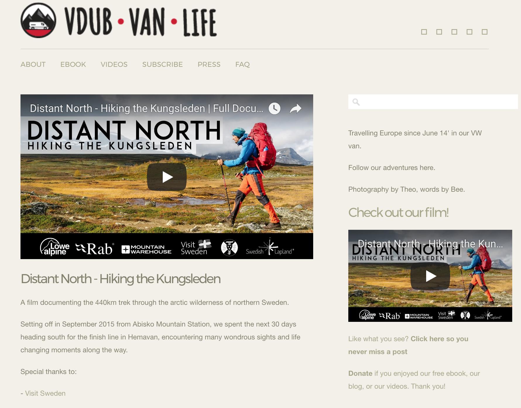 VDubVanLife Blog