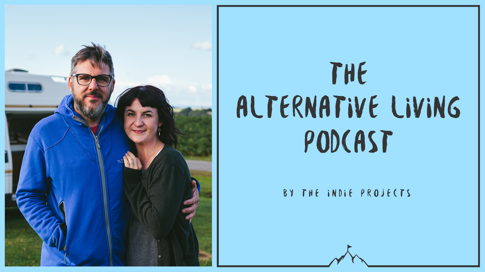Welcome to our fifth episode of the alternative living podcast!   At the end of September we were invited to spend the weekend at Camp Quirky, hosted by  Quirky Campers , who had around 30 self build camper vans all lined out beautifully in a sunny field in the cotswolds for a couple of nights.   There was so much inspiration for us as we are planning on buying a bigger van in the new year, so it was amazing to see so many different lay outs and chat to so many people who have done it themselves.   As usual we filmed the whole thing, so  here's a link to the film  where you can see all the vans we got to see.  As well as a host of gorgeous vans we met up with some familiar faces, including Rich from Beyond The Van who we've recorded the next podcast with, and Ellie and Scott who we met back in August to create a film about their gorgeous van  Florence .   Check out their  website  here and follow their  Instagram  here.