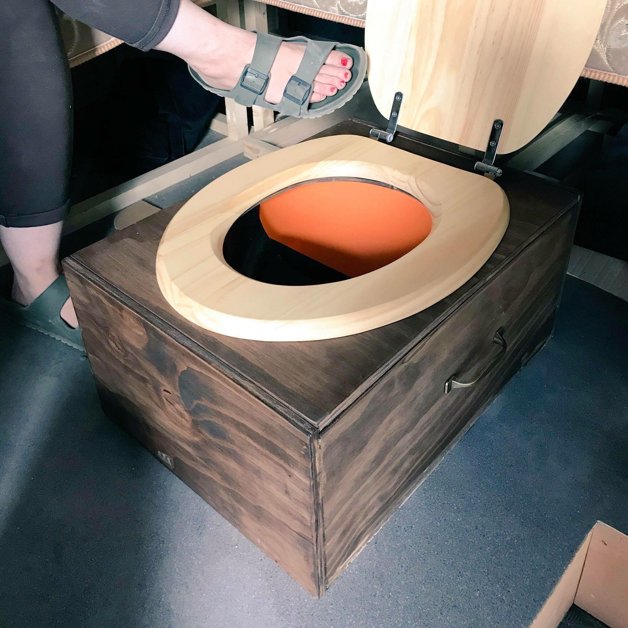 diy separating composting toilet