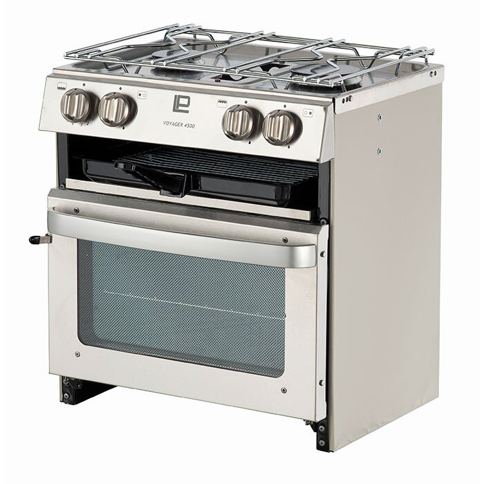 The Voyager 4500 is an ideal oven for van life