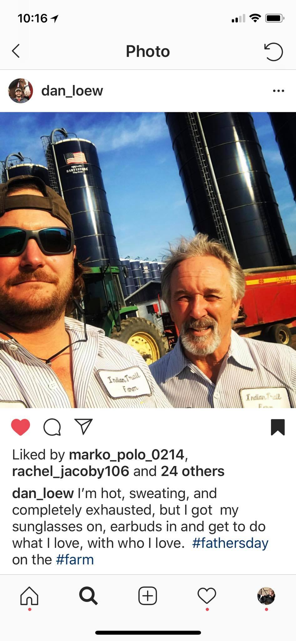 Two of my favorite farmers - it's the people not the things.