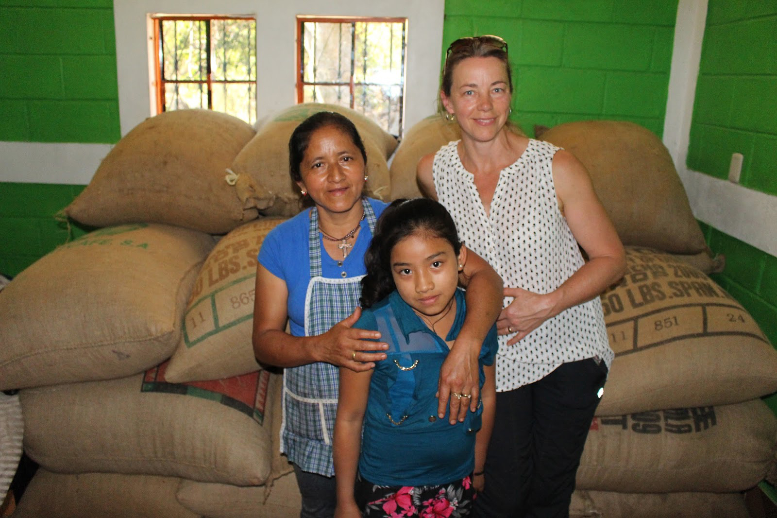 This is Sue with Juanita and her daughter Yaneli.