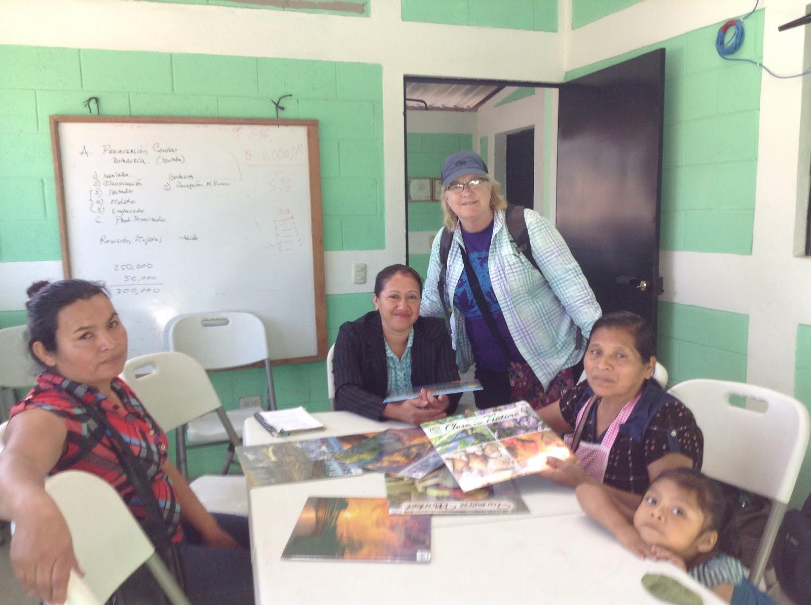 Orfa, Sonia, Brenda, Fabiana and her daughter.