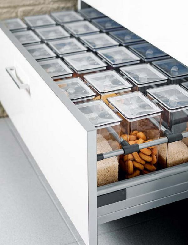 Pullouts + Organization for the Kitchen -
