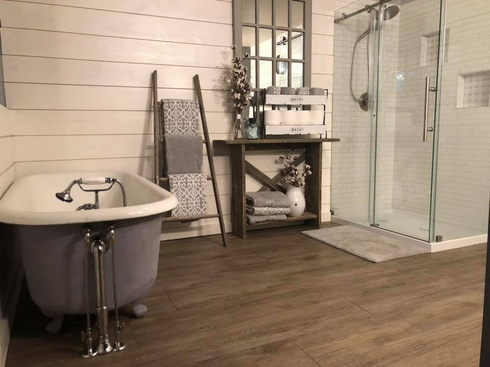 Finished bathroom project for the lovelace family in Baraboo