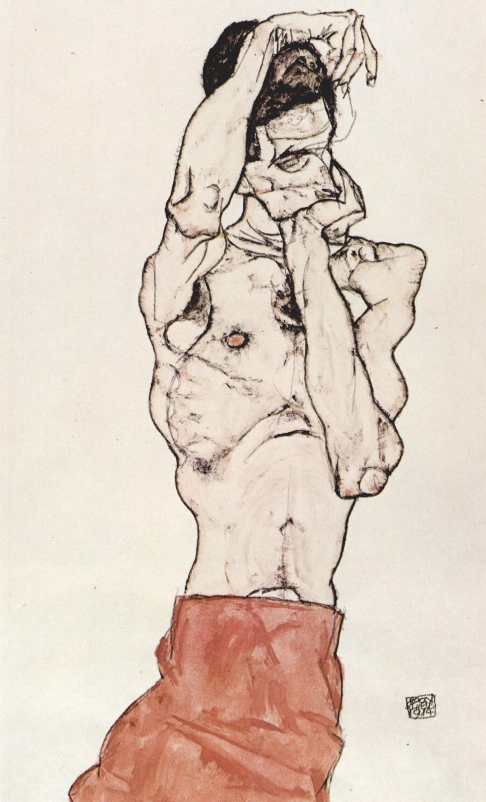 I've spent far too much time studying how Egon Schiele draws hands.