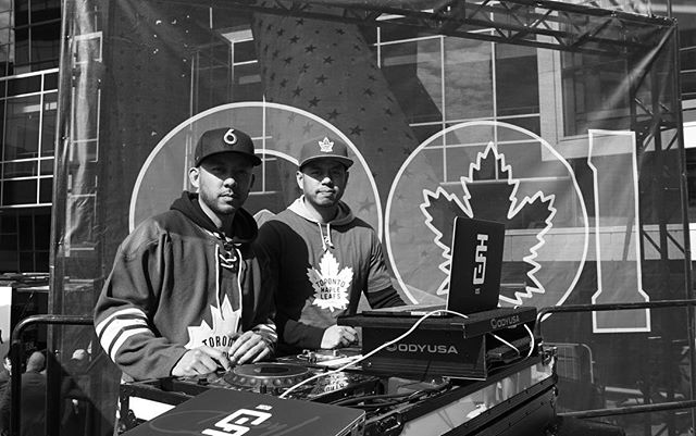 Thanks for rocking out with us #Toronto 💥 Game time 🍁|| #STF #GoLeafsGo | 📸 @nt.visuals