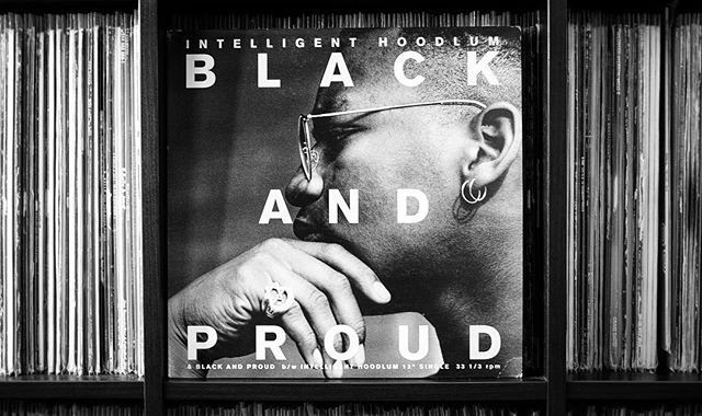 Intelligent Hoodlum - Black and Proud 12"