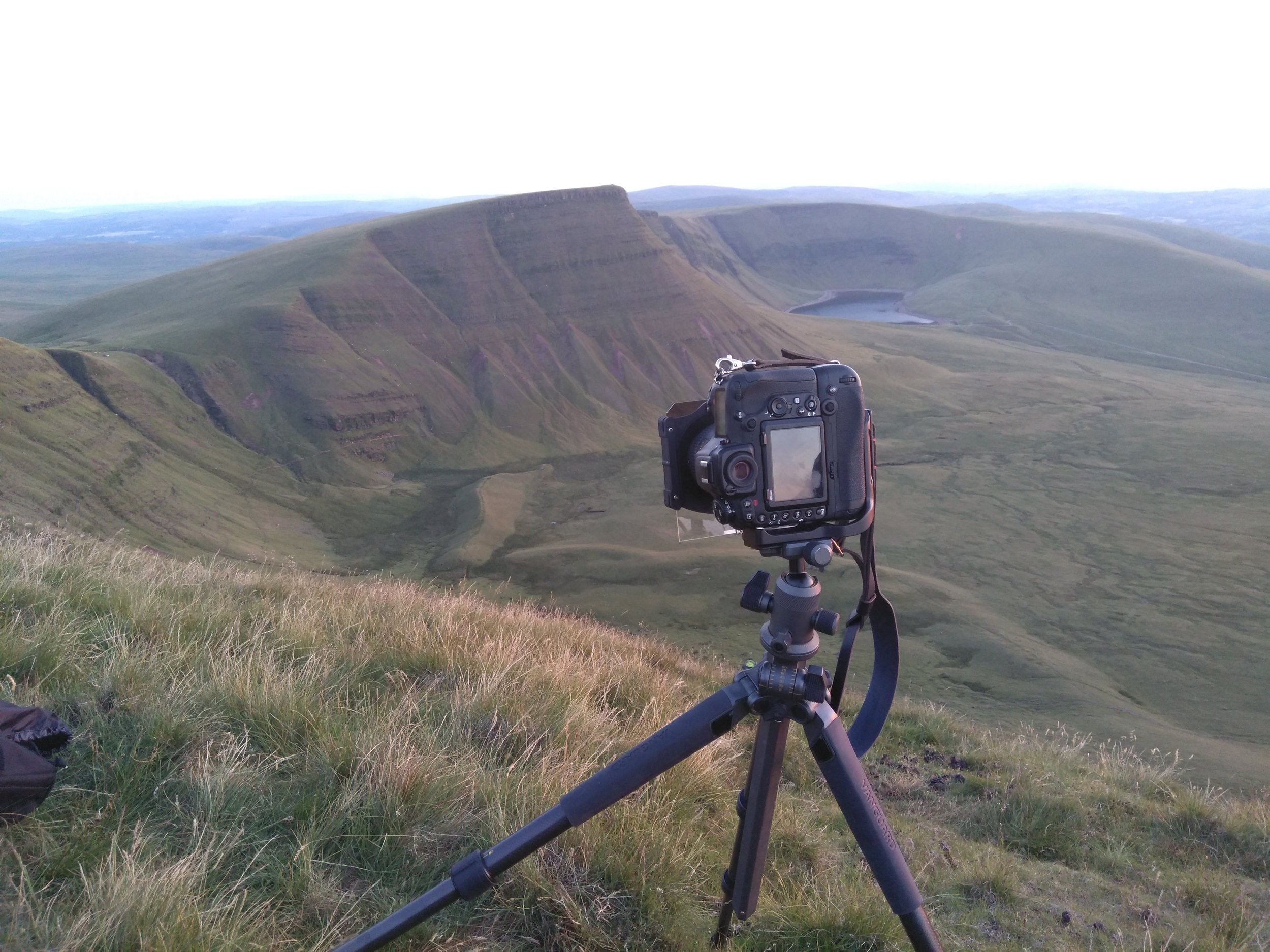 Vanguard Alta Pro2+ 263CB tripod on Picws Du, Brecon Beacons
