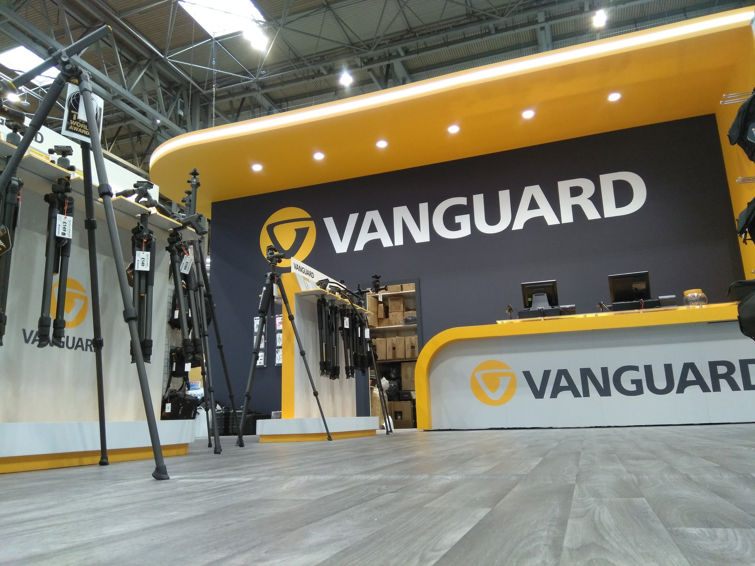 Vanguard Photo UK stand The Photography Show 2019