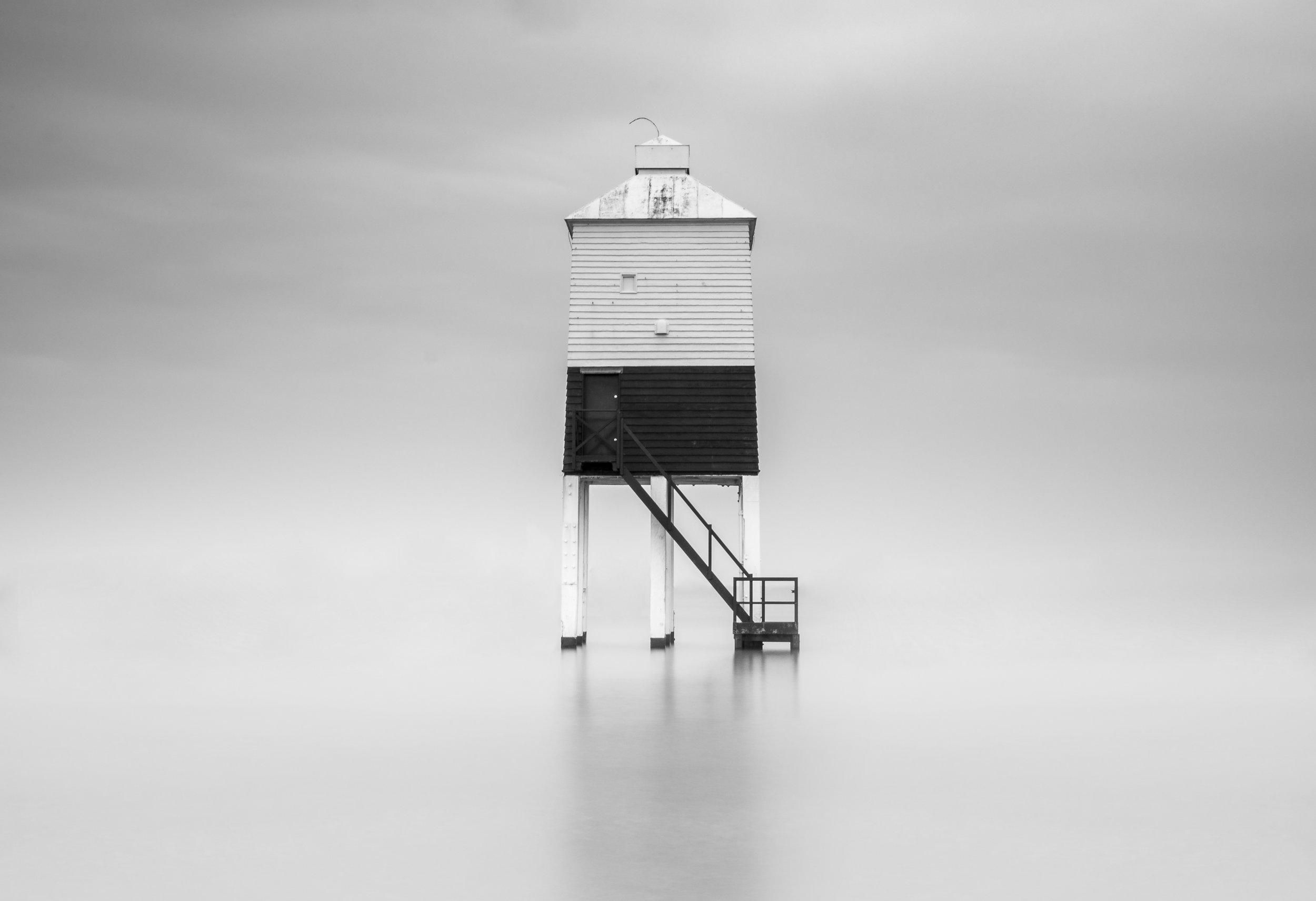 Burnham-on-sea low lighthouse long exposure