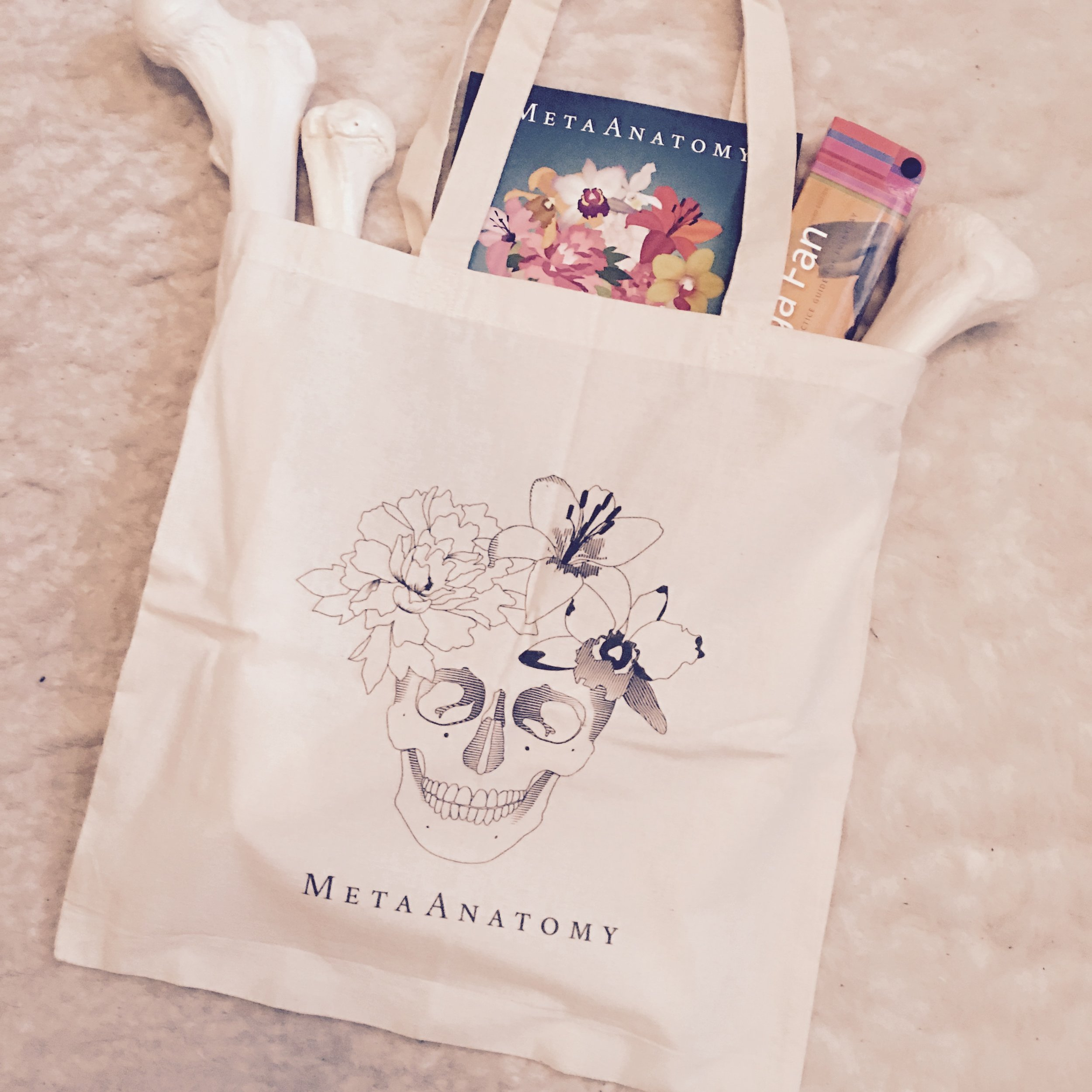MetaAnatomy Tote Bag   $25  Shipping to US addresses only please   click here to purchase