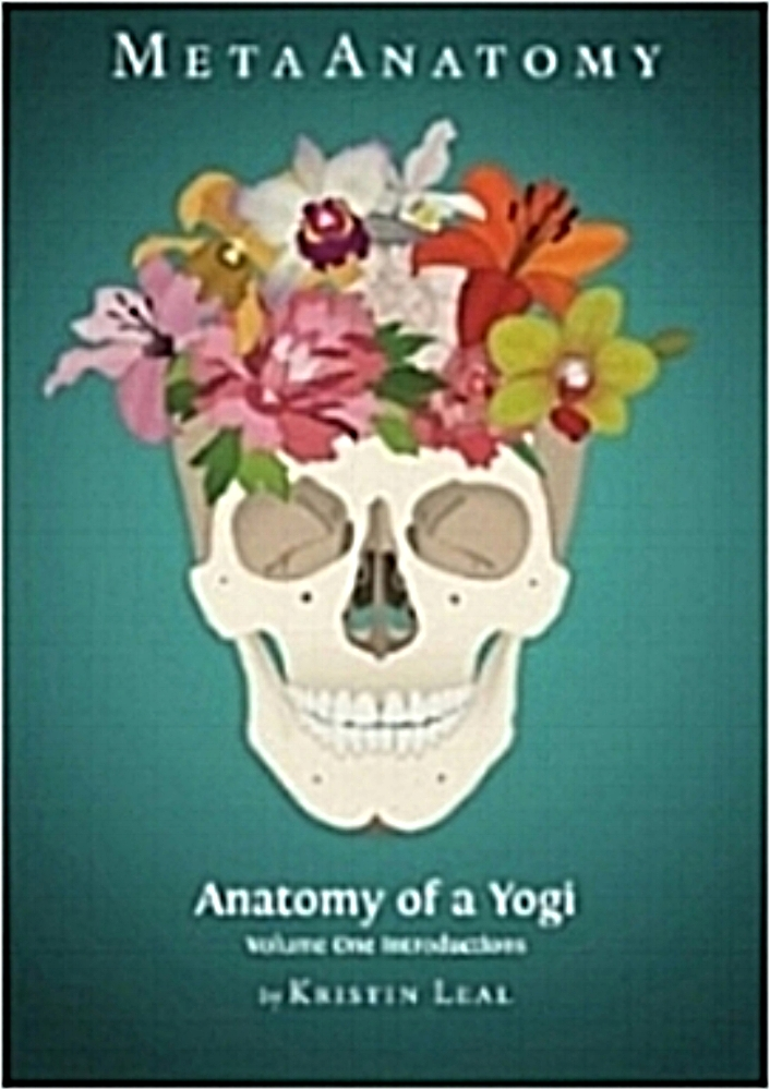 """MetaAnatomy Volume One- ANATOMY OF A    YOGI   Meta, like in the words metaphysical or metacarpals, means beyond, and MetaAnatomy is the attempt to go beyond our often limited concepts of our own bodies. In Anatomy of a Yogi Volume One we introduce you to... You! With chapter titles like """"I've got your back, Jack"""" on the glorious spine and """"Oh the nerve"""" on the magnificent nervous system we try to disseminate what can be dense information into fun accessible bite size pieces (so to speak!). Wrapped inside the teachings of yoga philosophy this makes an excellent companion to yoga teacher training programs or for those yoga students interested in learning about their own amazing body. This book covers all the major muscles, bones and joints along with the anatomy of breath and the nervous system forming a comprehensive and lighthearted study for yoga students, yoga teachers or anyone with a body."""