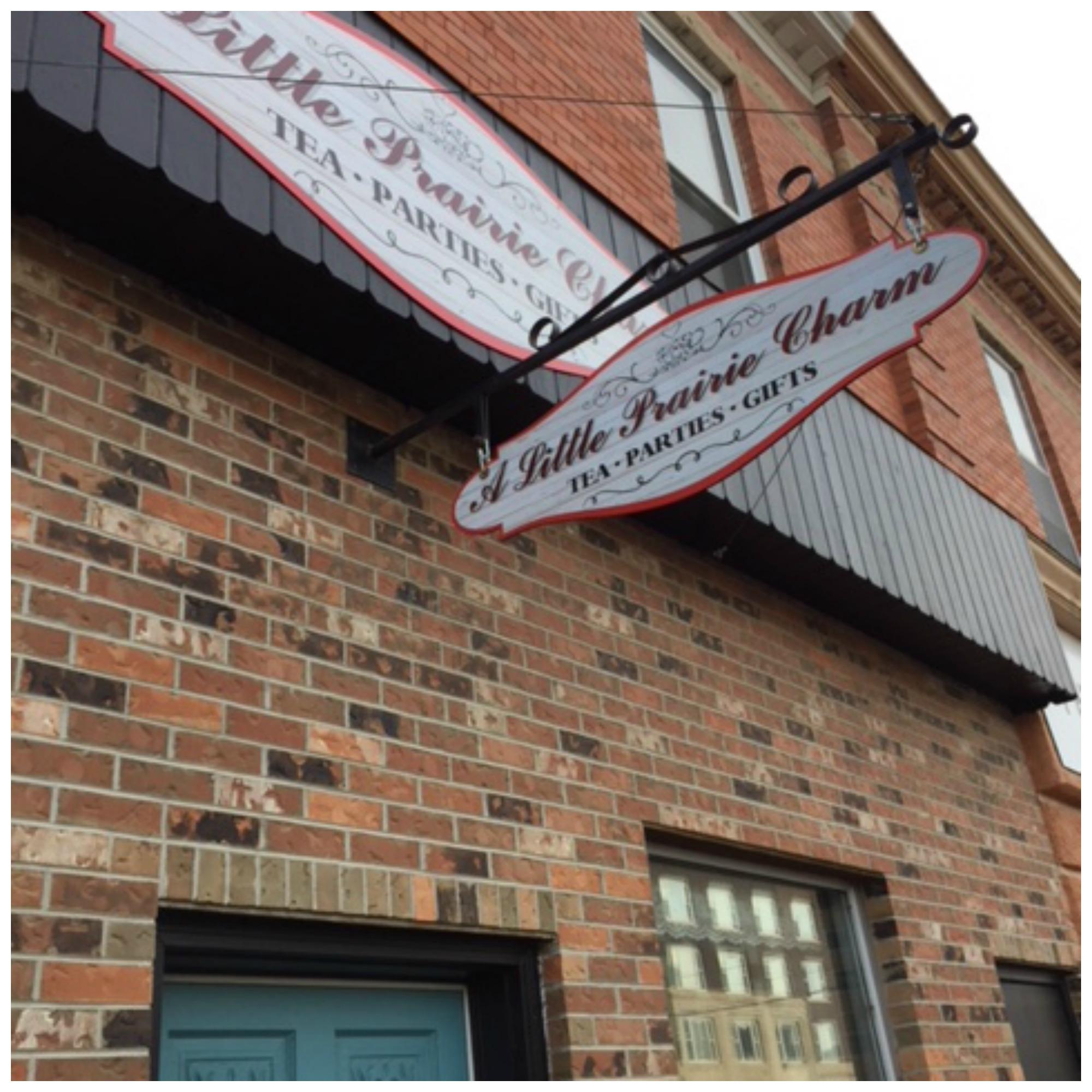 A Little Prairie Charm is located at 35 High St. E.