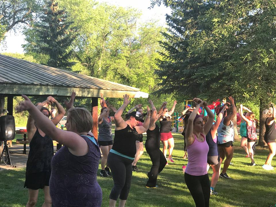 Kyra and her squad from Dance Fitness with Kyra will be back in the valley for a free class.  On June 4th join us at the Kinsmen Wellesley Pavilion and get ready to get your groove on!  Event starts at 7:00pm