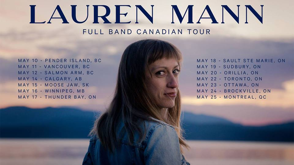 Join Lauren Mann and Riviere for a night of music at Chrysalis Coffee in Moose Jaw, SK. Show at 7pm, tickets are by donation at the door.  LAUREN MANN After stepping back from touring for a few years, Lauren Mann is hitting the well worn road once again with new songs, a new band, and new energy. Since settling on British Columbia's Southern Gulf Islands, she has rediscovered her voice and creative expression, finding new authenticity in her music. Somewhere between the tension of the beauty of her island surroundings and walking through a divorce, the new songs she's been writing are marked by a maturity that carries a deeper honesty, tangible vulnerability, and renewed effervescence.  To support the release of her single Innocence (released Dec 2018), Lauren will be sharing that and more of her new songs across Canada in May with a fourteen date tour from Pender Island, BC to Montreal, QC as she prepares to start working on her fourth album. The songs are a harkening back to simplicity and storytelling, carried on enchanting melodies and supported by a full band comprised of Steph Jackson on guitar, Tim Charman on bass, and Kevan Britton on drums.  RIVIERE Riviere is the solo project from Moose Jaw musician Matt Froese. A multi-instrumentalist and passionate singer/songwriter, Matt plays a brand of indie/folk that incorporates subtle fingerpicked acoustic guitars with electronic vibes. He live-loops sounds in real time to build layers of musical poetry as an accompaniment to his smooth vocals, creating a different musical adventure for each song.