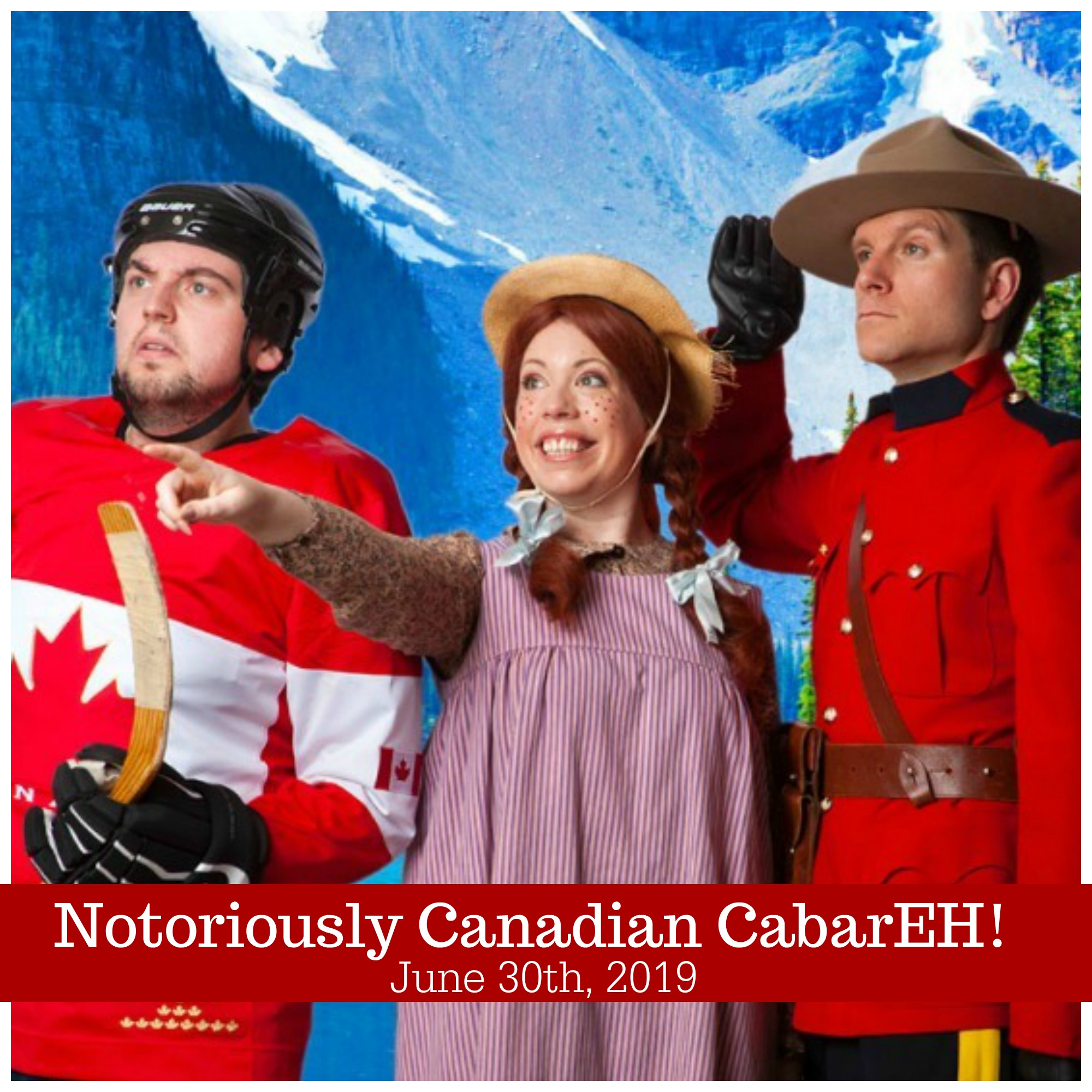 "We've been working on something for the adults this year! Join us in celebrating all things wonderfully Canadian at the ""Notoriously Canadian CabarEH""! Silver donation at the door with proceeds going to the fireworks. Prizes for best Canadian outfits, bands, specials and all things Canadian! More details to follow."