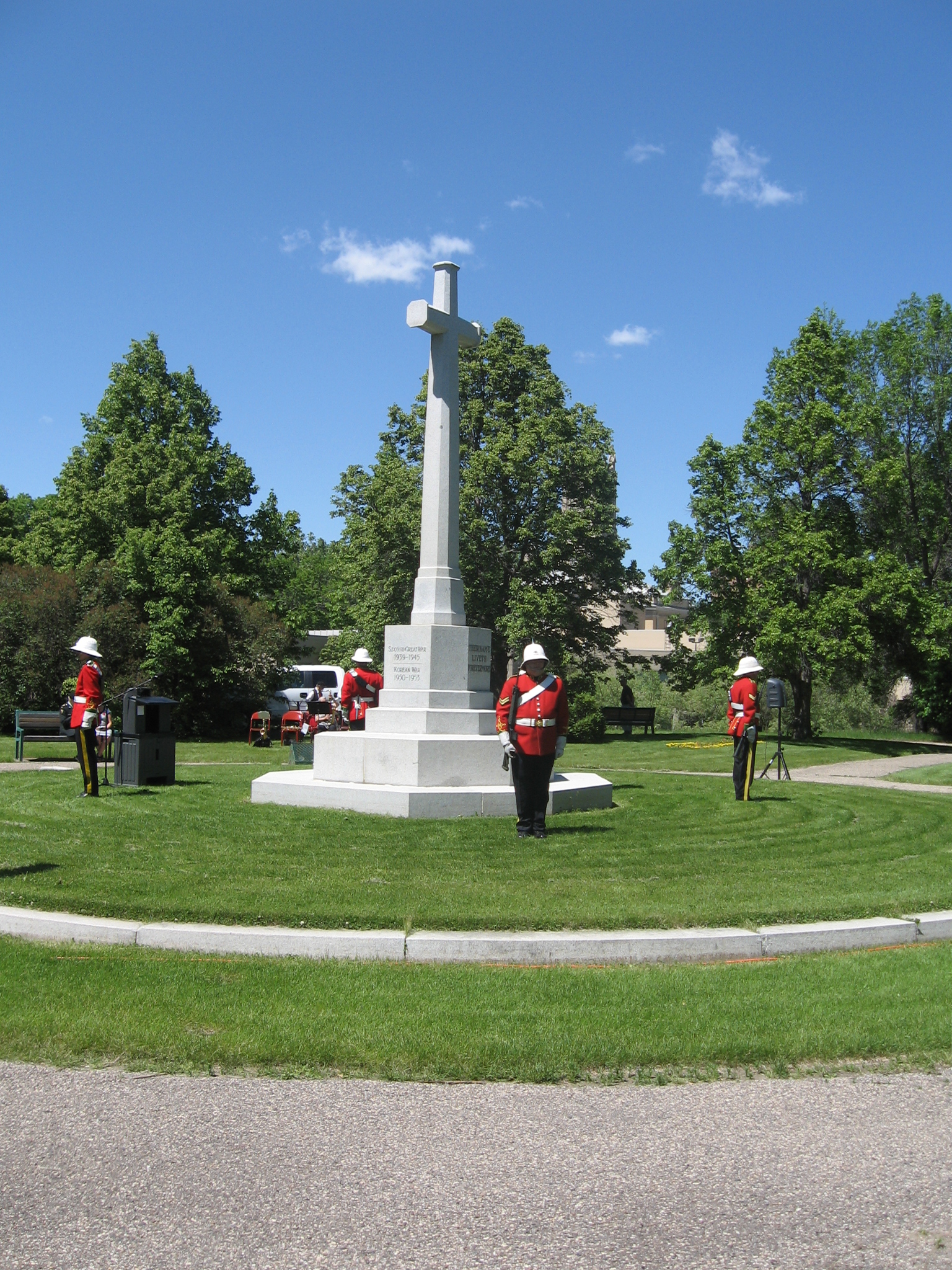 2019 DECORATION DAY CEREMONIES – Sunday, June 2nd – To mark the occasion and pay homage to the men and women who have served, Legion members, family members and other volunteers place Canadian flags on veterans' graves – all interested persons are welcome.     -Sunset Cemetery - Decoration of graves @ 9:00 am Saturday, June 1st – Service @ 10:00 am Sunday, June 2nd    -Moose Jaw Cemetery (East) – Decoration of graves @ 10:00 am Sunday June 2nd – no service    -Rosedale Cemetery – Decoration of graves @ 10:00 am Sunday June 2nd – service to follow at 11:00 am    -Crescent Park Cenotaph – Parade & Service at @ 2:00 pm     There will be a public Hamburger BBQ ($5) at Philip Heaton Hall at the Legion, 268 High St W  starting at 4:00 pm following  the Crescent Park service. All adults and children are most welcome. Please call 306-692-5453 for more information.
