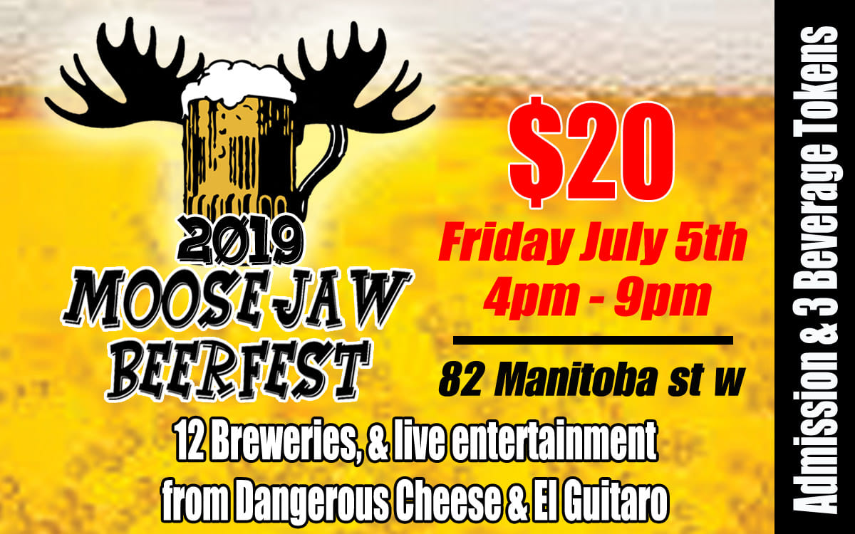 Tons of different breweries with their amazing product and live music with Dangerous Cheese and El Guitaro!! All taking place Friday, July 5th from 4-9 PM under the big top at 82 Manitoba Street W. This event is a hit, get your tickets fast before they are gone!!!