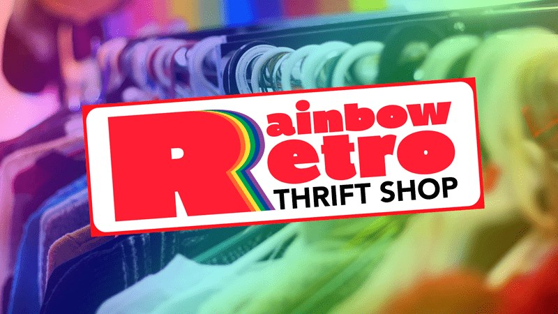 """Don't miss our monthly """"Thrifty Thursday"""" sale at Rainbow Retro! Find second-hand treasurers at the lowest prices in town AND get 30% off all second hand merchandise! Open to all of our customers! Thrifty Thursday is a recurring sale that takes place on the Third Thursday of every month!"""