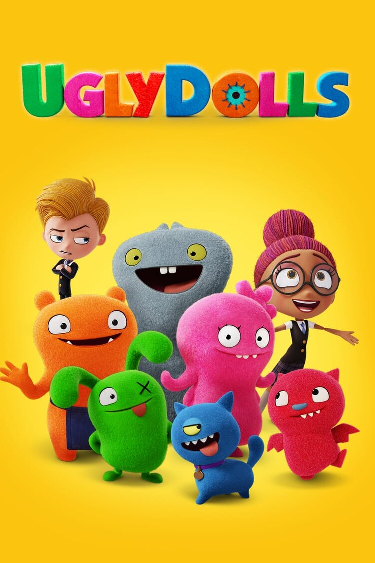Join us in the theatre for a movie & popcorn. Today's features: Ugly Dolls
