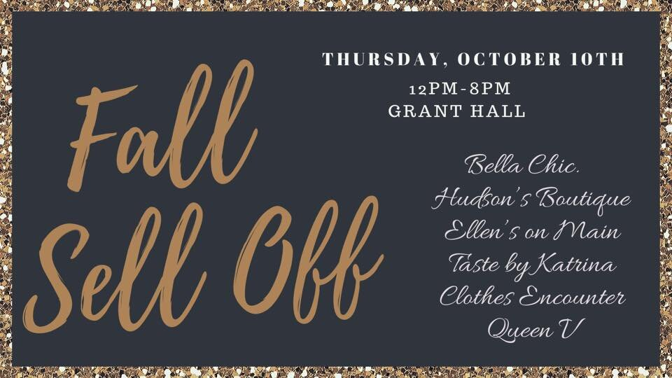 Our first sell off was such a huge hit that we have decided to make it a semi-annual event!! Everything will be on sale!!