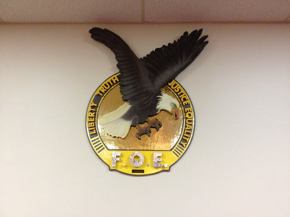Fraternal Order of Eagles, #3395, Ladies Auxiliary ANNUAL FOWL SUPPER - Sunday, October 6, 2019 - Eagles Hall - 561 Home St. W., Moose Jaw, Sk - Full Turkey Dinner with all the trimmings, including tea, coffee & dessert - tickets are available at the Eagles Club - at the bar and the Nevada booth, or you can get them at the door. Doors open at 4:00 pm and dinner is served until 6:00 pm. Ticket prices are CHILDREN (5 to 10 years) $5.00 - under 5 years are free, ADULTS $15.00 and SENIORS (60+) $12.00.