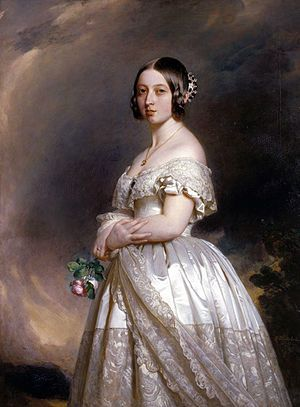 Queen Victoria's Wedding Portrait