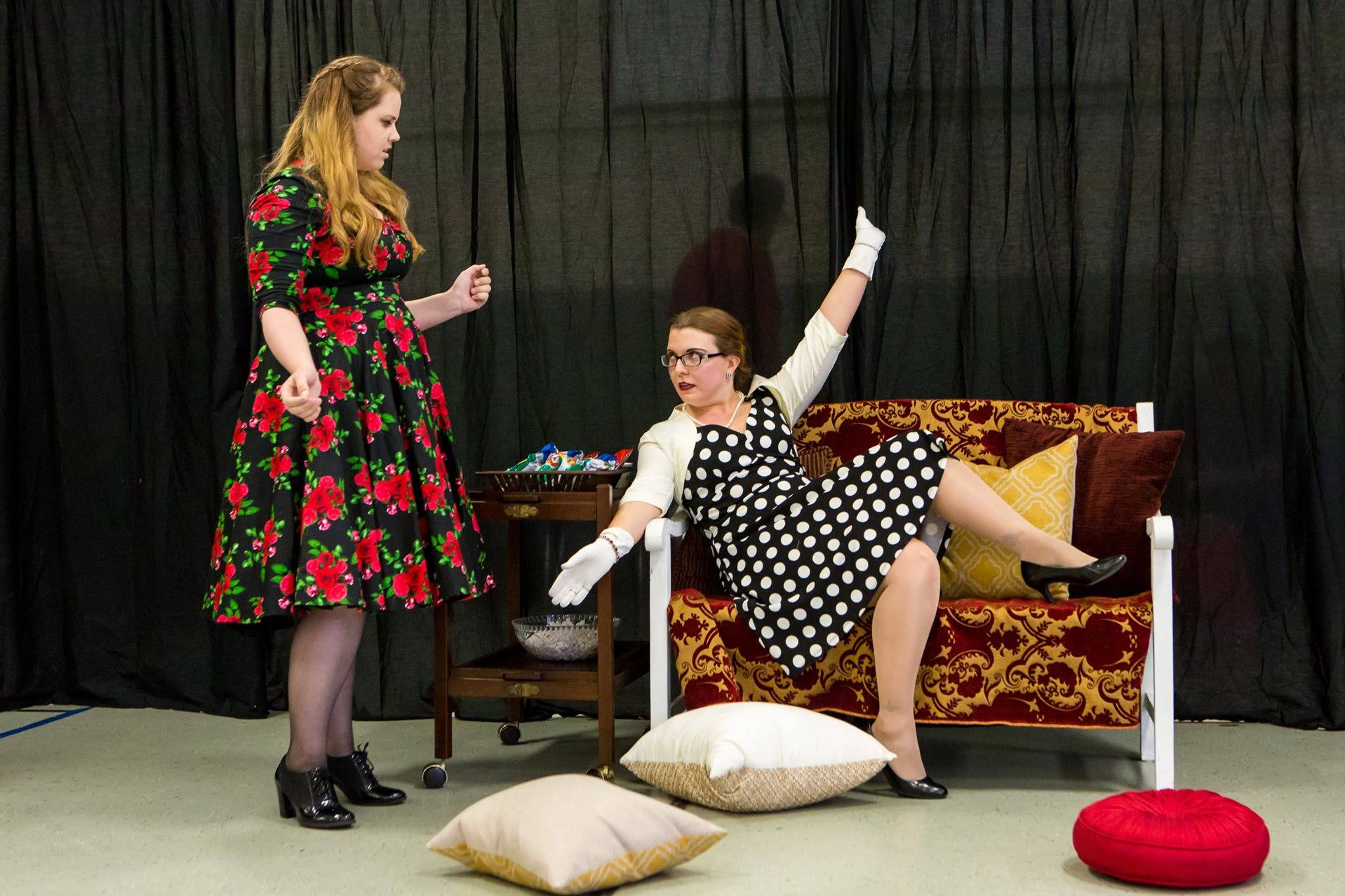 She Stoops to Conquer. Photo by David Harback of Harback Photography.