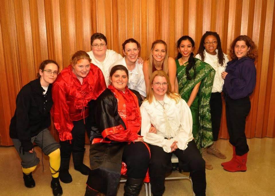Twelfth Night in 2011. Photo by David Seidman.