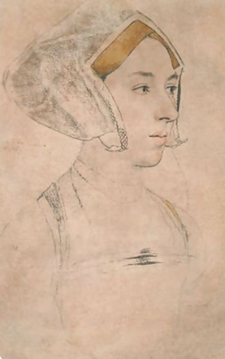 Portrait of a Lady, thought to be Anne Boleyn, by Hans Holbein