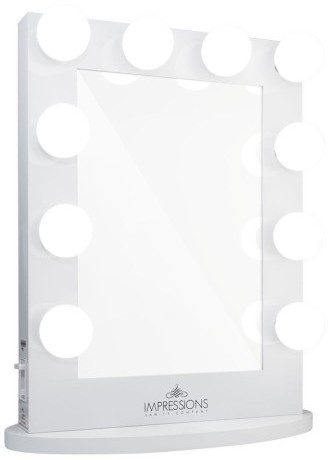 """3. A Large Scale Vanity Mirror  -  Every woman needs to check her application in the mirror. And there is no better way to do it than with large, glamorous mirror. We like the  """"Hollywood Iconic""""  Mirror from ImpressionVanity.com"""