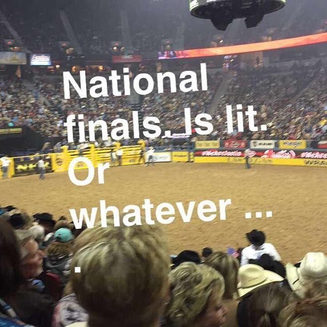 #nationalfinalsrodeo #wrangler #lasvegas
