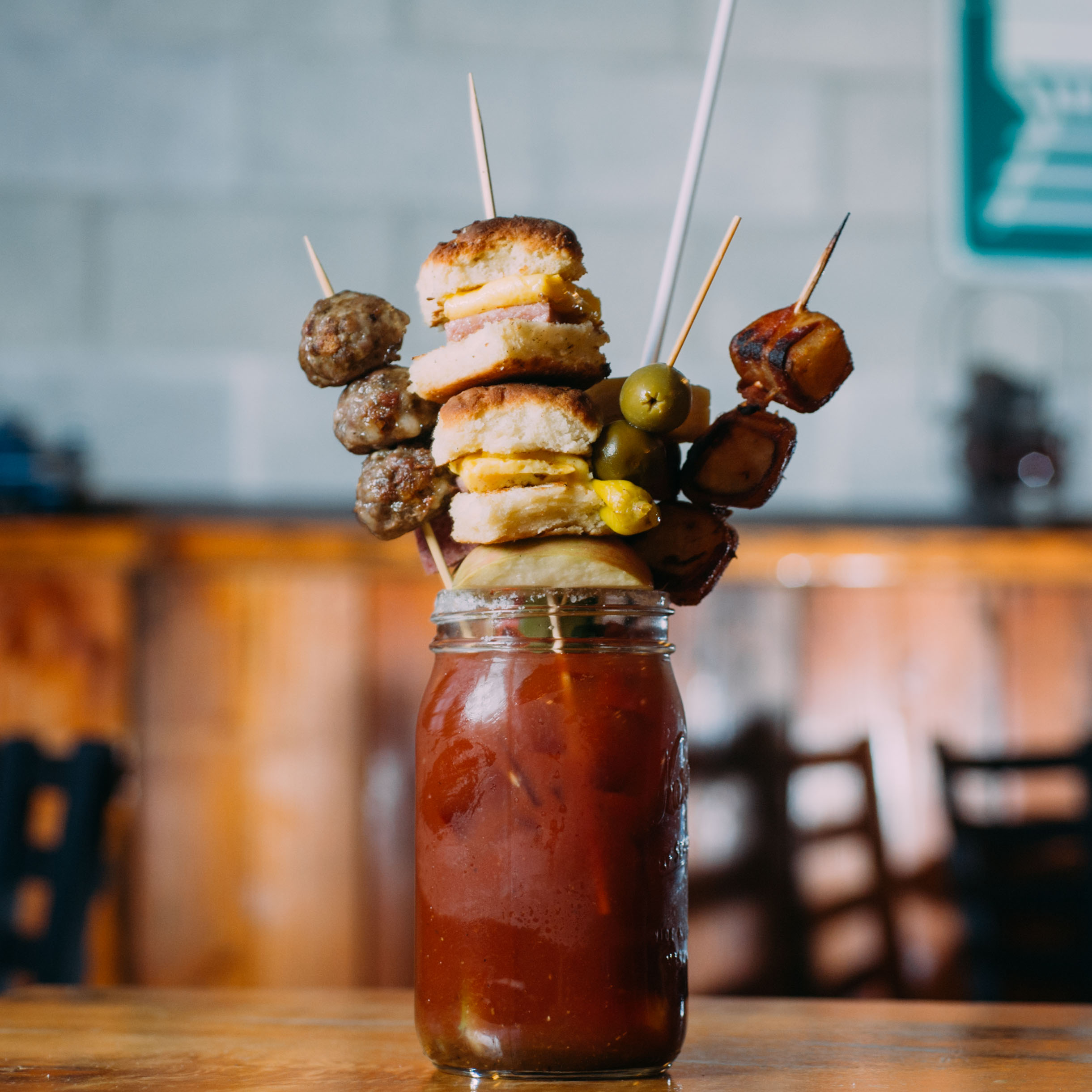 Train Wreck Bloody Mary