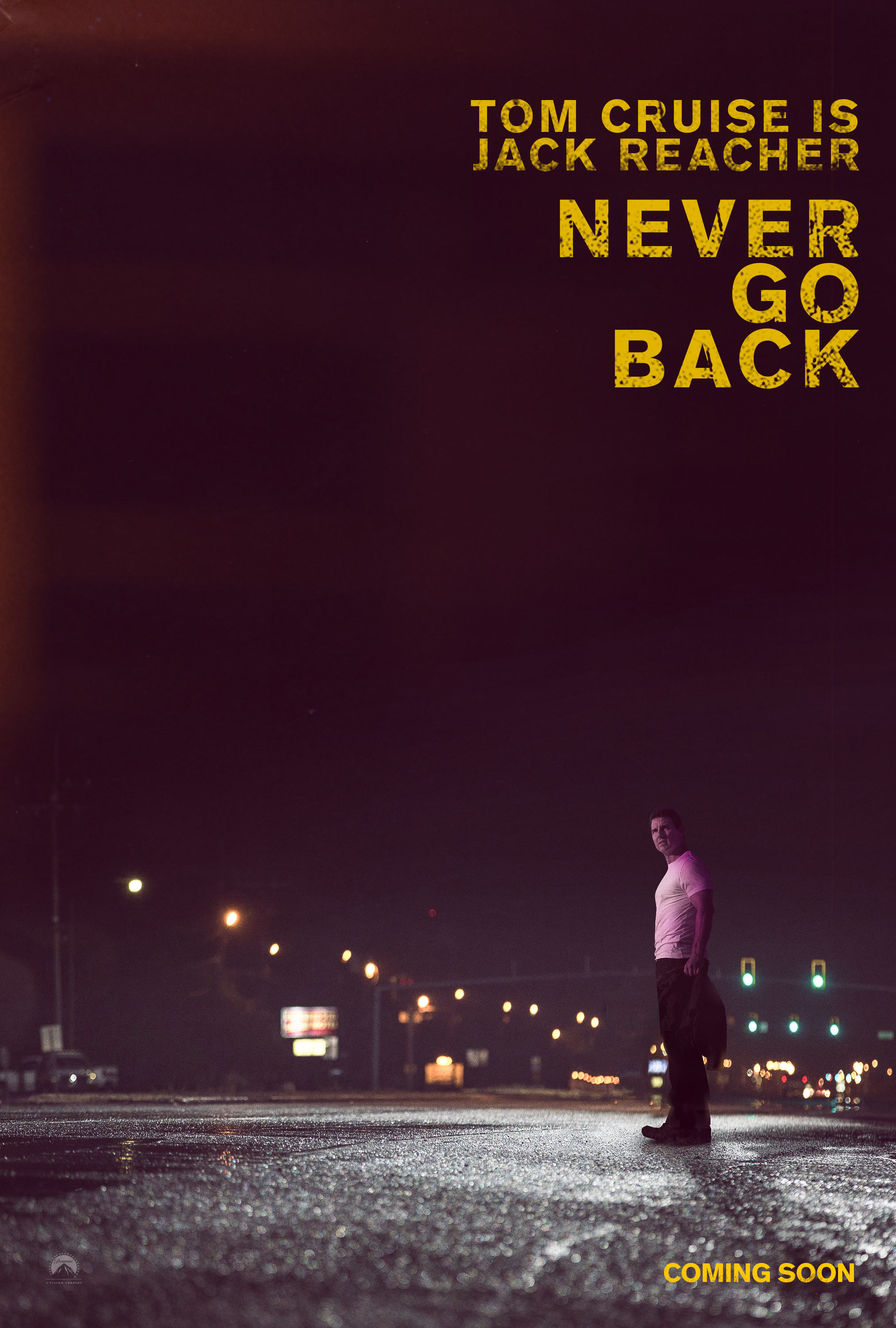 Jack Reacher Never Go Back - Paramount