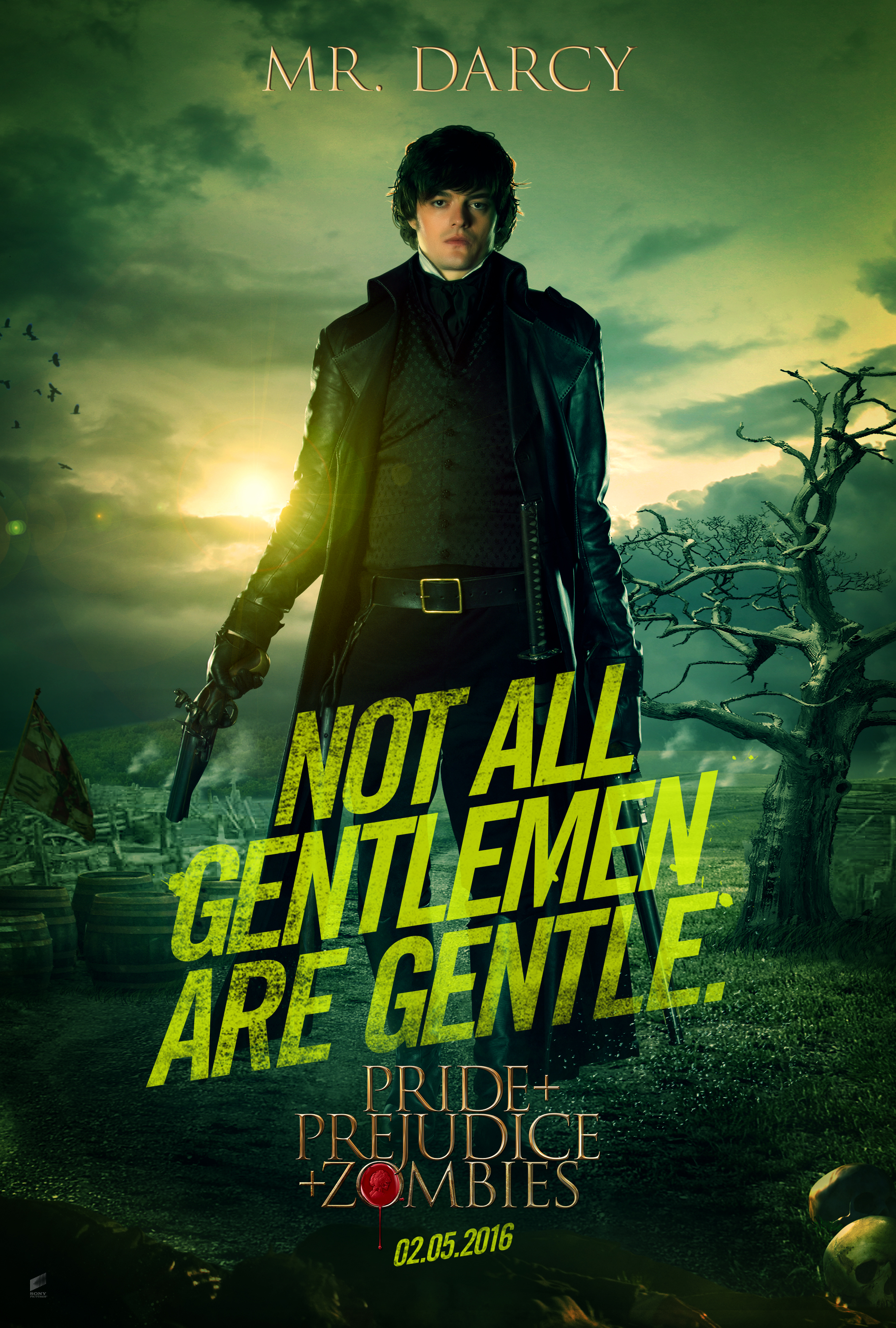 Pride & Prejudice & Zombies - Screen Gems