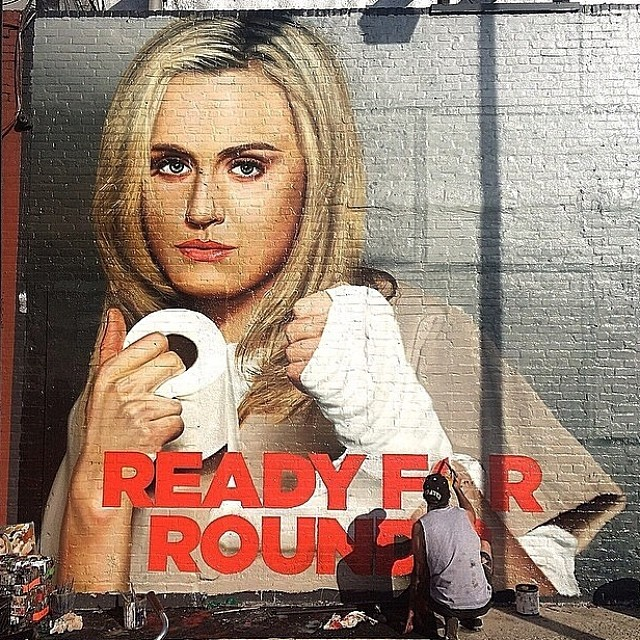 Orange Is The New Black Mural - Netflix   Orange Is The New Black – Official Character Banners S2 Creative Director: Brad Johnson / Ethan Archer, Arsonal Art Director: Sarah Ford